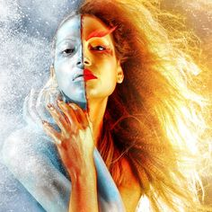 Love this! Fire and Ice