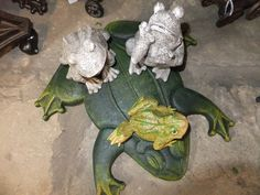 """These frogs are """"hopping"""" you'll come in to see them at the Harmony Museum Shop!"""