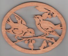 Hey, I found this really awesome Etsy listing at https://www.etsy.com/listing/152597630/handmade-wooden-bluebirds-trivet