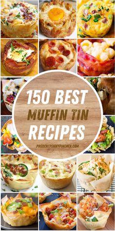 Easy Dinner Recipes, Appetizer Recipes, Breakfast Recipes, Appetizers, Muffin Pan Recipes, Cooking Recipes, Healthy Recipes, Healthy Dinners, Cooking Ideas