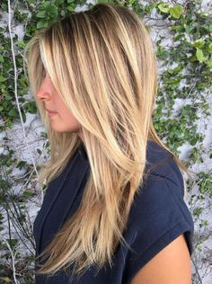 27 Amazing Hairstyles for Long Thin Hair (Must-See Haircuts for Fine Hair) – Hair Styles 27 Erstaunliche Frisuren für langes Cejas Kendall Jenner, Classy Hairstyles, Amazing Hairstyles, Long Blonde Hairstyles, Medium Hairstyles, Pretty Hairstyles, Haircuts For Long Hair With Layers, Fine Hairstyles, Layered Hairstyles