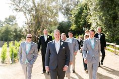 Temecula wedding at the lake oak meadows winery groom charcoal grey suit with…