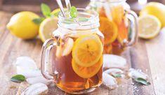 Orangen-Zitronen-Eistee