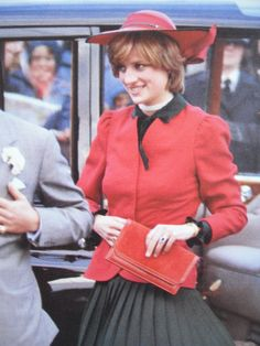 HRH Diana, Princess of Wales on her first official Tour of Wales.October 27, 1981: