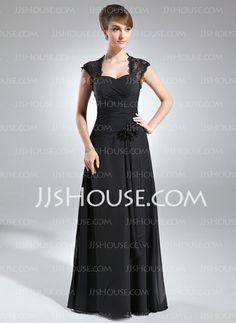 Mother of the Bride Dresses - $140.49 - A-Line/Princess Sweetheart Floor-Length Chiffon Lace Mother of the Bride Dress With Ruffle Beading Flower(s) (008006153) http://jjshouse.com/A-Line-Princess-Sweetheart-Floor-Length-Chiffon-Lace-Mother-Of-The-Bride-Dress-With-Ruffle-Beading-Flower-S-008006153-g6153