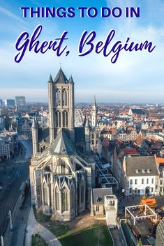 Looking for fun things to do in Ghent, Belgium? From exploring castles and cathedrals to trying Belgian beer and hanging out by the river, we've got you covered. Visit Belgium, Ghent Belgium, Europe Travel Guide, Europe Destinations, Travel Guides, Travel Advice, European Vacation, European Travel, Asia