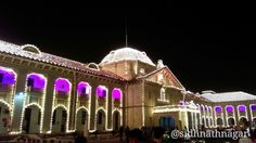 #India #Allahabad : The building of Allahabad High Court was illuminated with lights on it's 150th #Foundation day #Allahabadhighcourt
