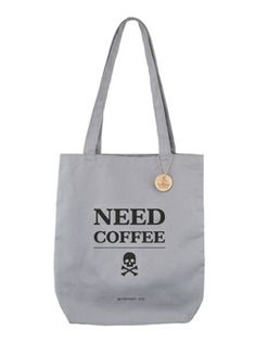 Mom wasn't impressed when she saw the price tag. Hahahaha. >>> Skull+Coffee-Tote