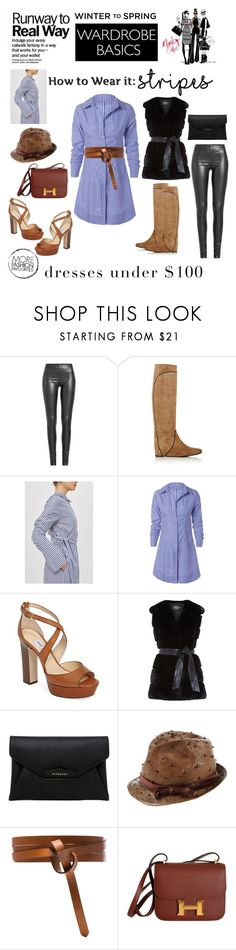 """""""Weekend Attire : Earn Your Stripes"""" by katieparker3 ❤ liked on Polyvore featuring Joseph, Lanvin, Topshop, Jimmy Choo, Harrods, Givenchy, Brunello Cucinelli, Isabel Marant, Hermès and dresstoimpress"""