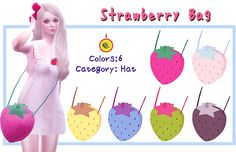 ★ Strawberry Bag ★ | a-luckyday
