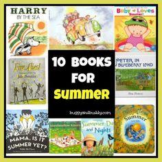 Our 10 Favorite Summer Themed Books for Children
