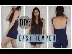 DIY Easy Peasy Romper - YouTube