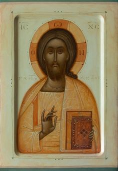 Pantokrator by Gabriel Toma Chituc Byzantine Icons, Byzantine Art, Orthodox Icons, Son Of God, Religious Art, Jesus Christ, Christianity, Modern Art, Religion