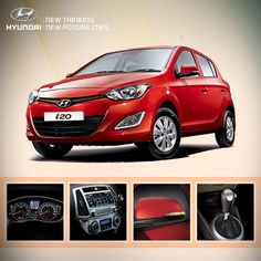 Can you name the features of the i20 displayed below?