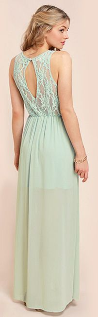 In Between Dreams Sage Green Lace Maxi Dress - Shop Lulu*s for amazing dresses for special occasions + get 7% cash back http://studentrate.com/itp/get-itp-student-deals/LuLu-s-Student-Discount--/0