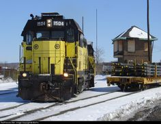 RailPictures.Net Photo: YRC 1504 York Railway EMD CF7 at York, Pennsylvania by WixPix