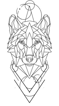 Line Tattoos, Black And Grey, Tattoo Ideas, Ipad, Sketch, Design, Geometric Lion Tattoo, Type Tattoo, Geometric Animal
