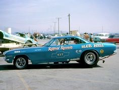 Rapid Ronnie Runyan's 'Blue Hell' Chevy Corvair Funny Car