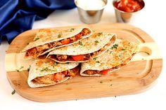 Easy Chicken Quesadillas with Shredded Ivanhoe Cheddar