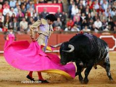 The Media Bulls Met Their Matador in Trump: And when they did contort themselves to ask a question with seeming impartiality you could see the strain all over their faces as if they were doing a favor so great they deserved a Papal dispensation. Dance Of Death, Man Vs, Mexican Art, Cattle, Old Photos, Art Reference, Art Projects, Cartoon, Beast
