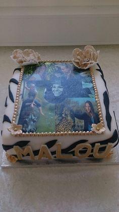 Confirmation cake zebra