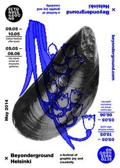 Werklig beyonderground identity Poster Design Layout, Graphic Design Layouts, Graphic Design Posters, Poster Designs, Poster Ideas, Slow Galerie, Posters Conception Graphique, Illustration Design Graphique, Art Exhibition Posters