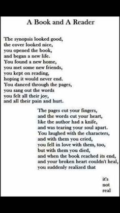 I feel like crying after reading this, but it is the sad truth of life. I feel like crying after reading this, but it is the sad truth of life. I Love Books, Good Books, Books To Read, My Books, Book Of Life, The Book, Feel Like Crying, Book Memes, Reading Quotes