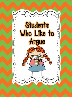 Tips to use with students who like to argue. This is geared towards elementary students, but is great for parents to read. or even some tips for high school students Organization And Management, Classroom Organization, Organizing, Management Tips, Classroom Behavior Management, Behaviour Management, Classroom Behaviour, Behavior Board, Classroom Discipline