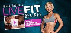 Jamie Eason's Apple Cinnamon Protein Bars Recipe!