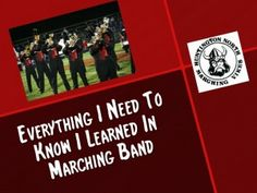 You've heard about the list of things you learned in kindergarten..... what did you learn in band? http://www.virtualmusicoffice.com/everything-i-need-to-know-i-learned-in-band-part-1/