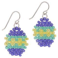 Easter Egg Earrings   Fusion Beads Inspiration Gallery
