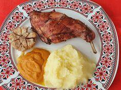 Lulu - Povesti din Bucatarie: Iepure la tava Lidl, Pork, Meat, Chicken, Kale Stir Fry, Pork Chops, Cubs
