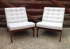 Vintage Retro Pair Of Danish Teak 60's Chairs By France & Son Furniture!!