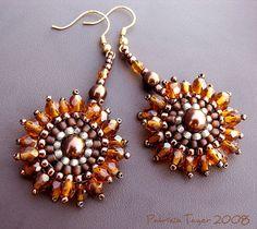 sunflower earrings 01