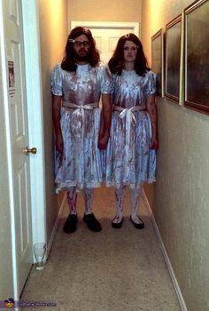 Lacee: Me and my fiancé won first place in a Halloween costume contest last night as the Grady Twins from The Shining. We of course had to make a reenactment of...