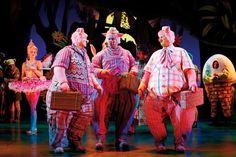 Shrek the Musical Costumes: Three Pigs