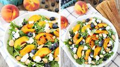 Une salade sucrée-salée