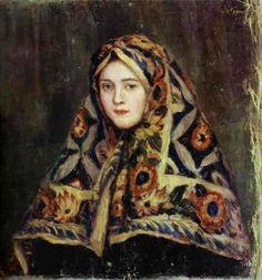 Anfisa, Surikov, Vasily Ivanovich. Russian (1848-1916)