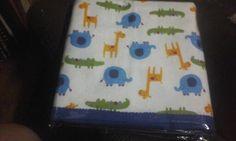 Martha Carolina Silva confeccionó colchita para bebé tel 0050582856035