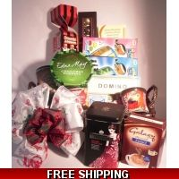 Family Bumper Christmas Gift Hamper.  Perfect gift for the entire family, with sweets, chocolates, biscuits, games and more.  Only £51.99 including delivery.