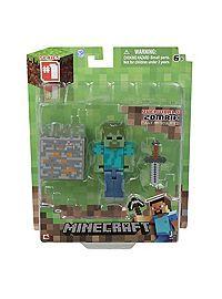 HOTTOPIC.COM - Minecraft Core Series #1 Zombie Action Figure