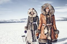 Duohtavuohta Lookbook 12/13 by Ossi Gustafsson, via Behance