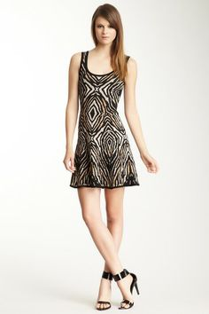 Torn By Ronny Kobo Luciana Animal Print Dress by Non Specific on @HauteLook