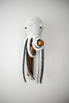 small Octopus Stuffed Animal Handmade Plush toy by BigStuffed