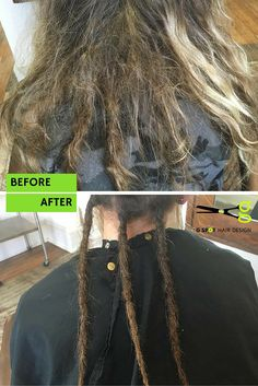 G Spot Dread clients come in all shapes and sizes and number of dreads because everyone IS different! # dreadlocks need as much love as a headful and we tamed them back to lovely locks. http://gspothairdesign.com/