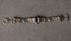 We've got the goodies to make this fun bracelet at Funky Hannah's, Racine, WI Shrink Image, Leather Rivets, Metal Beads, Leather Craft, Goodies, Jewelry Making, Bling, Jewels, Bracelets