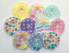 Easter G-tube covers mic-key button feeding tube pads
