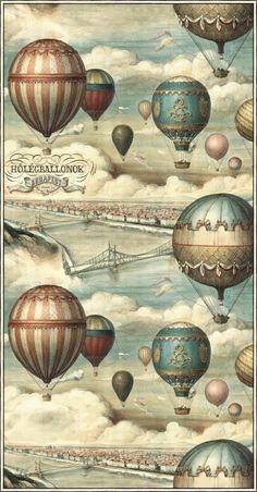 Bonitas imágenes vintage para transfer y decoupage Vintage Paper, Vintage Art, Decoupage, Art, Decoupage Vintage, Vintage Hot Air Balloon, Paper Art, Vintage Art Prints, Prints