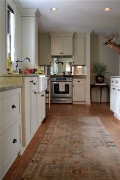 Sophisticated Galley Kitchen. Quite Livable