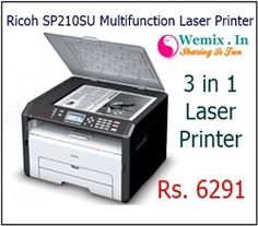 Ricoh SP 210SU Multifunction Laser Printer Rs 6291